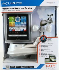 AcuRite Pro Weather Station with 5-in-1 Weather Sensor, PC Connect, Wind & More