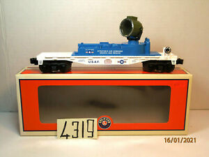 Lionel Air Force USAF Minuteman Operating Searchlight Car #  37039, O/027,New