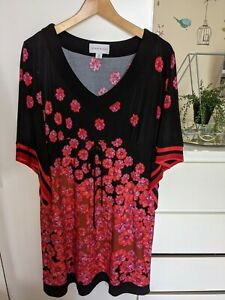 Ronni Nicole Black And Red Dress Size 18