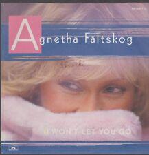 "7"" Agnetha Faeltskog (Abba) I a gagné`t Let You Go / you`re Il 80`s Polydor"