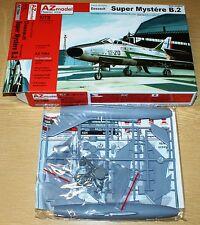 Dassault Super Mystére b.2 'atar Engine' (francia) en 1/72 de az Model