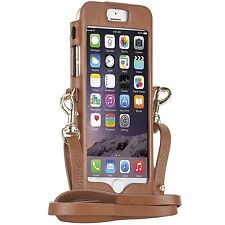 CASEMATE IPHONE 8 / 7 / 6S/6 REBECCA MINKOFF LEATHER CROSSBODY SLEEVE CASE COVER