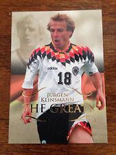 2011 Futera Unique Greats Soccer Card - Germany KLINSMANN Mint