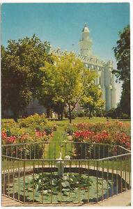 St. George Temple,Utah,Hubert A. Lowman Photo,LDS/Mormon Unused Vintage Postcard