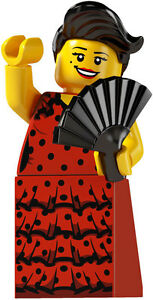Lego minifig series 6 FLAMENCO DANCER - suit castle / city sets