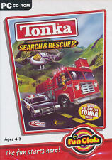 TONKA SEARCH & RESCUE 2 Ages 4-7 Kids PC Game NEW inBOX