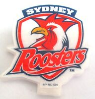 40277 SYDNEY ROOSTERS NRL BIRTHDAY CAKE LOGO TEAM WAX CANDLE CELEBRATION PARTY