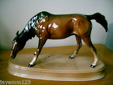 BESWICK HORSE PONY SPIRIT OF NATURE MODEL No 2935 BROWN GLOSS CERAMIC BASE RARE