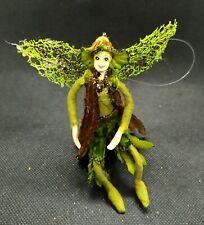 Mini Green Brown Fairy Fabric Boy Doll 5'' Home Christmas Decoration