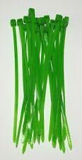 Medium cable Ties - Green 25 Pack - 100mm - Easily secure cables - Free P&P