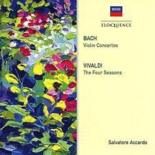 Bach / Vivaldi / Sal - Bach: Violin Concertos / Vivaldi: Four Seasons [New CD]
