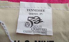 "2002, TENNESSEE, 25.00 Bag of Quarters, MINT MARK, ""P"" Philadelphia."