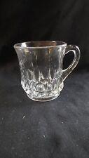 """EAPG - U.S. Glass (Ripley & Co.) #15091 """"Arched Ovals"""" crystal mug"""