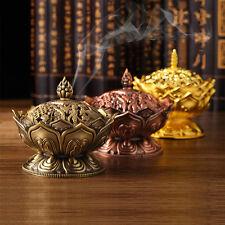 Lotus Räucherschale Räuchergefäß Weihrauchschale Weihrauchfass  3 Farben T5U9