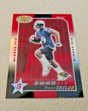 2000 Leaf Certified 2000 Rookie Mirror Red #222 Travis Taylor