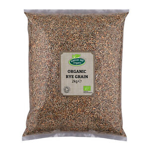 Organic Rye Grain 2kg Certified Organic
