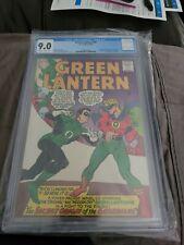 Green Lantern #40 CGC 9.0 DC Comics 1965 Crisis Begins & 1st app Krona
