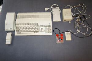 Amiga 500 inkl. Netzteil, Maus, Joystick, ext. Laufwerk, Festplatte, TV-Mod.