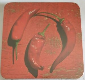 brand new sealed pack  Red Hot Chilli Peppers SET OF 4 Coasters