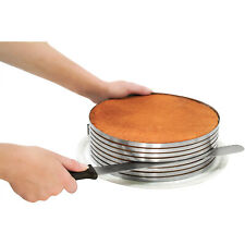 Zenker 3 Piece Layer Cake Slicing Kit With 12-Inch Serrated Knife