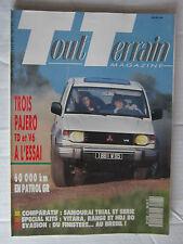 TOUT TERRAIN N° 27 /PAJERO TD et V6/PATROL GR/KITS :VITARA,RANGE,HDJ80/SAMURAI