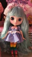 Blythe Nude Doll From Factory 1/6 Scale Joint Body Natural skin Matte New Face