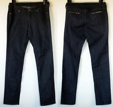 City Streets Black Stretch Skinny Jeans w/ Studs 9