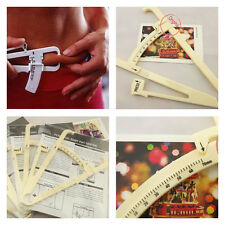 1PC Measure Body Accu Fat Loss Tester Caliper Charts Fitness Health Slim