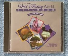 Walt Disney World Explorer 2nd Edition 1998 Pc Cd-Rom Rides Amusement Park Hotel