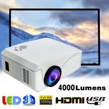 DHL 4000LM LED Beamer Full HD 1080P LCD Heimkino Video Projektor Projector TV