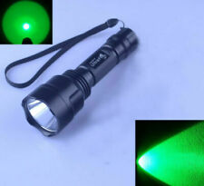 Hight Quality Ultra Fire C8 CREE XPE Green LED 1 Mode Hunting Flashlight Torch