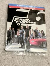 Fast and Furious 6 Steelbook + DVD + Digital Copy w/Poly sleeve