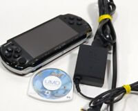 Sony PlayStation Portable PSP-3001 w/ 4GB Memory Card, Case, Charger, Sonic Game