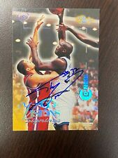 New listing SHAQUILLE O'NEAL 1996 Classic Visions Autographed Card #d 155/190 A BEAUTY !!