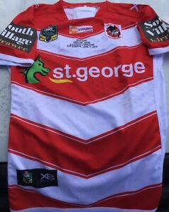 St George Dragons game Player Issue Away Jersey Illawarra Steelers Gps 2018 Hunt