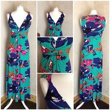 ladies stunning per una dress multi coloured size 8? 10? summer holiday