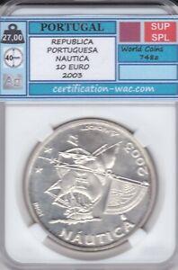REPUBLICA PORTUGUESA NAUTICA 10 EURO 2003 PORTUGAL