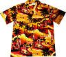 "Camisa Hawaiana ""Verano Dorado"" / 100% algodón / talla S - 6XL Hawaiiana Hawaii"