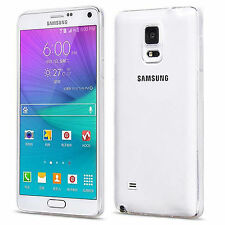 Transparent Silicone/Gel/Rubber Fitted Cases for Samsung Galaxy Note 4
