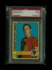 Dennis Hull 1972 Topps #164 PSA 9 MINT! Chicago Black Hawks Detroit Red Wings SP