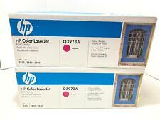 LOT OF 4 HP Q3973A Magenta Toner Cartridge - Sealed