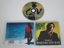 BRYAN FERRY + ROXY MUSIQUE/THE BEST OF(VIRGIN 7243 8 40951 2 3) CD ALBUM