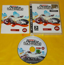 BURNOUT PARADISE THE ULTIMATE BOX Ps3 Versione Italiana 1ª Edizione ••• COMPLETO