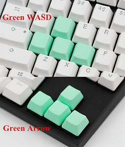 Non Printed Blank Keycap Cap Thick PBT Keycaps for Cherry MX Mechanical Keyboard