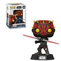 DARTH MAUL STAR WARS FUNKO POP CLONE WARS #410 PRE ORDER