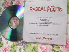 Rascal Flatts What Hurts The Most 6 track Promo UK CD Sampler
