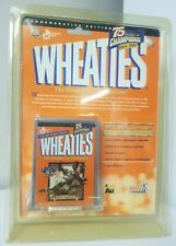 Wheaties Commemorative Edition Jackie Robinson 24k Gold Signature Cereal Box