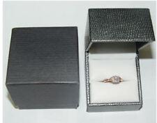 10K Rose & White Gold .46 Carat 37 Diamond Wedding or Social Ring