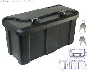 Werkzeugkasten Staubox mit Halter für Anhänger 550 x 250 x 294
