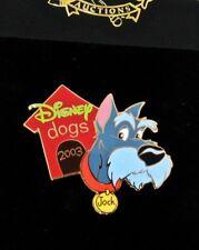 Rare Le 100 Disney Auction Pin✿Lady Tramp Jock Dog House Collar Scottish Terrier